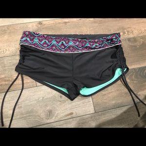 NWT Athleta Scrunch Full Tide Swim Bottom XL